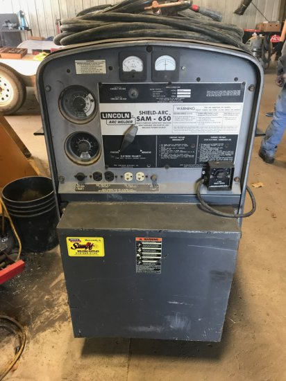 Lincoln SAM 650 Welder, Dsl. Powered