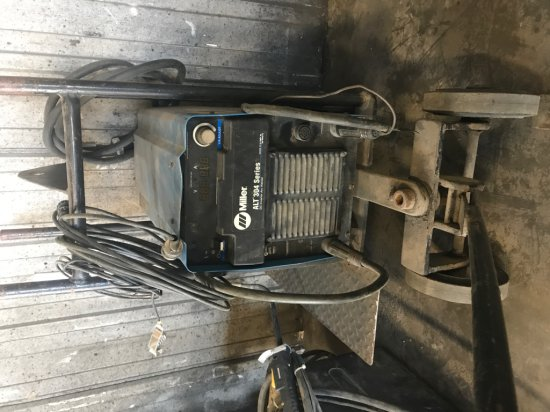 Miller 304 Inverter Welder 220V, Single Phase