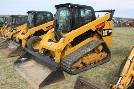 2014 CAT 289D Skid Steer Loader