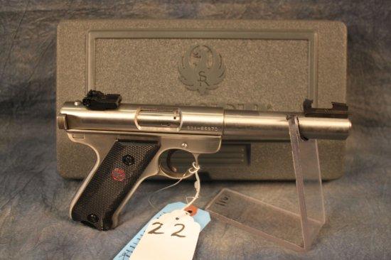 22. Ruger Mark II .22LR SN:224-86970