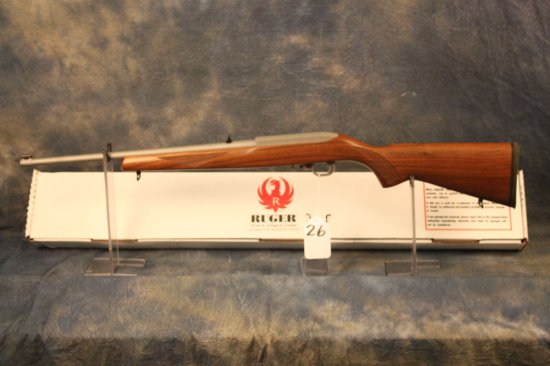 26. Ruger 10/22 Deluxe, DSPC Stainless SN:35458012