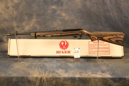 28. Ruger 10/22 Carbine, Green Lam. SN:233-11417
