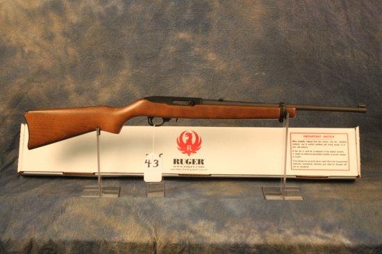 43. Ruger 10/22 Matte & Wood Stock, Duplicate Serial, SN:D352-3232 8
