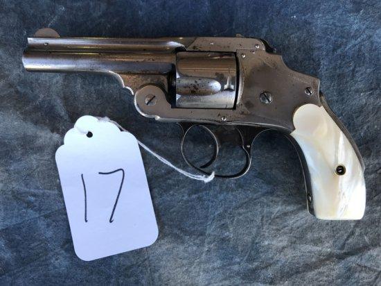 17. S&W .38? (Unmarked Caliber) Break-Over Revolver SN:67166