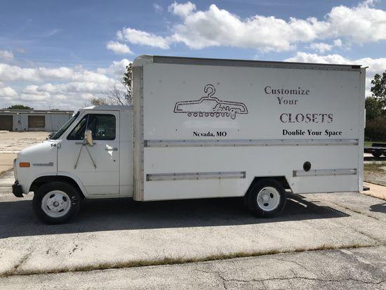 92 GMC Vandura 3500 Box Truck, 5.7L V8, 194K mi