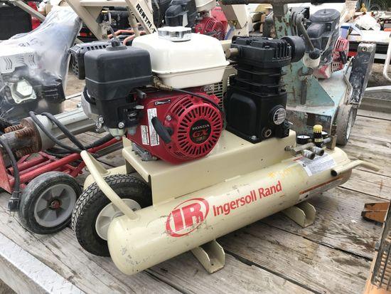IR Wheelbarrow Air Compressor w/ Honda Motor