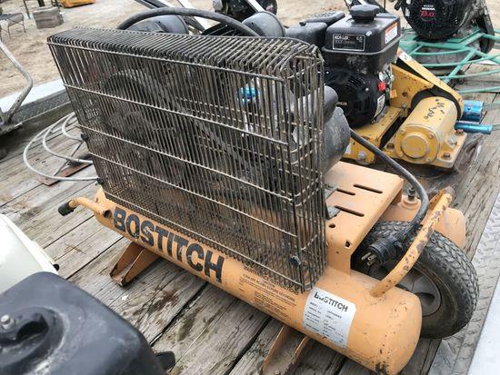 Bostich Wheelbarrow Air Compressor w/ 110V Elec Motor
