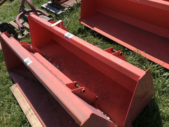 "11. Kubota L2264 Loader Bucket 72"" CN: 2036"