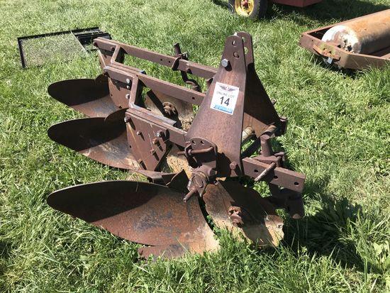 14. 3-Bottom Moldboard Plow CN: 4871