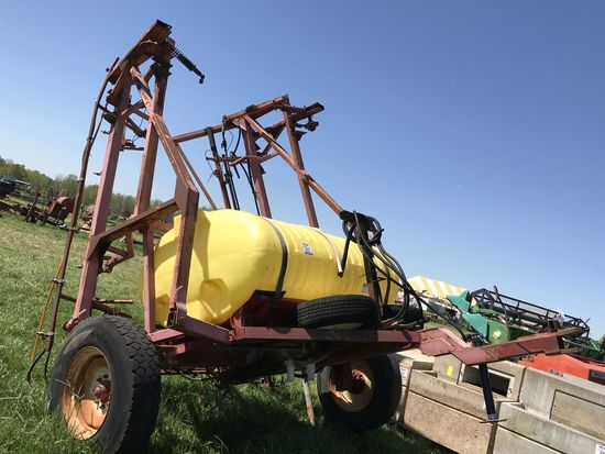 23. Older Boom Spray Rig, 30' Boom, 500 Gallon Tank CN: 1061