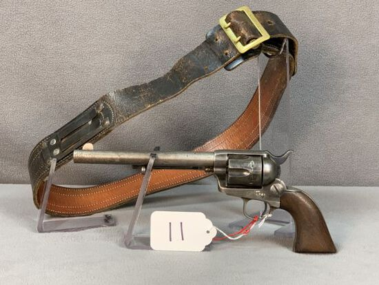 11.  Colt SAA .45C Bridgeport