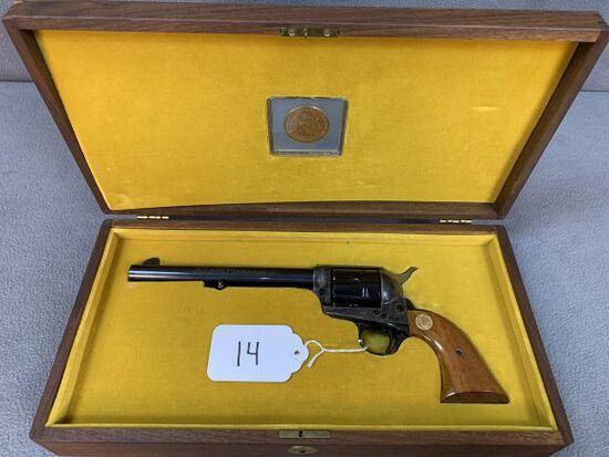 14. Colt SAA .45C, NRA Centennial