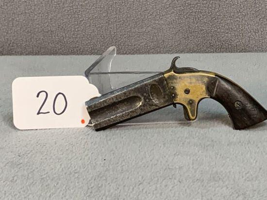 20. Arms Co. 2-Barrel Pepper Box