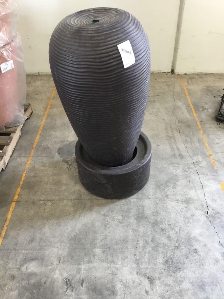 Large Outdoor Resin Vase Water Fountain
