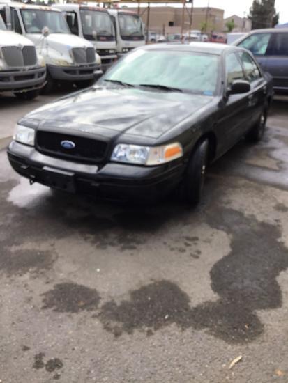 2010 Ford V8 4.6L Crown Victoria Police Interceptor ***DEALER OR EXPORT ONLY***