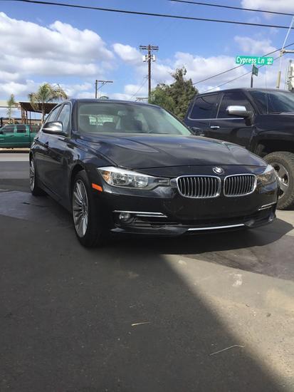 2012 BMW 3 L4 2.0L Series
