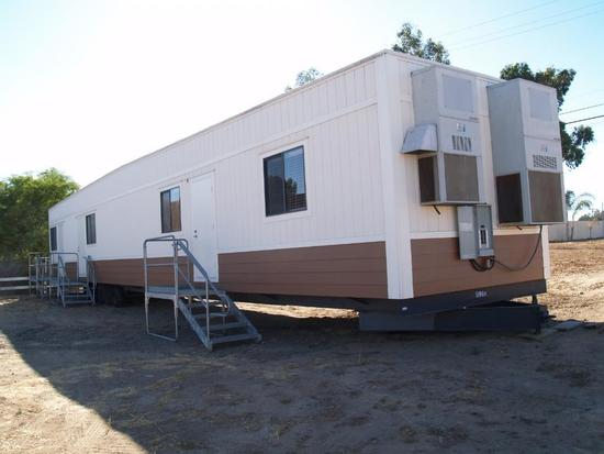 Large 77ft X12ft Construction Office Trailer