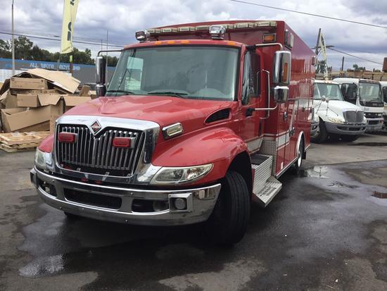 2010 International V8 7.6L 4300 LP Ambulance