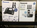 (2) Panasonic Cordless Phone Systems