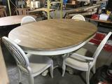 Hooker Furniture Sunset Point Round Pedestal Dining Table w/ Chairs
