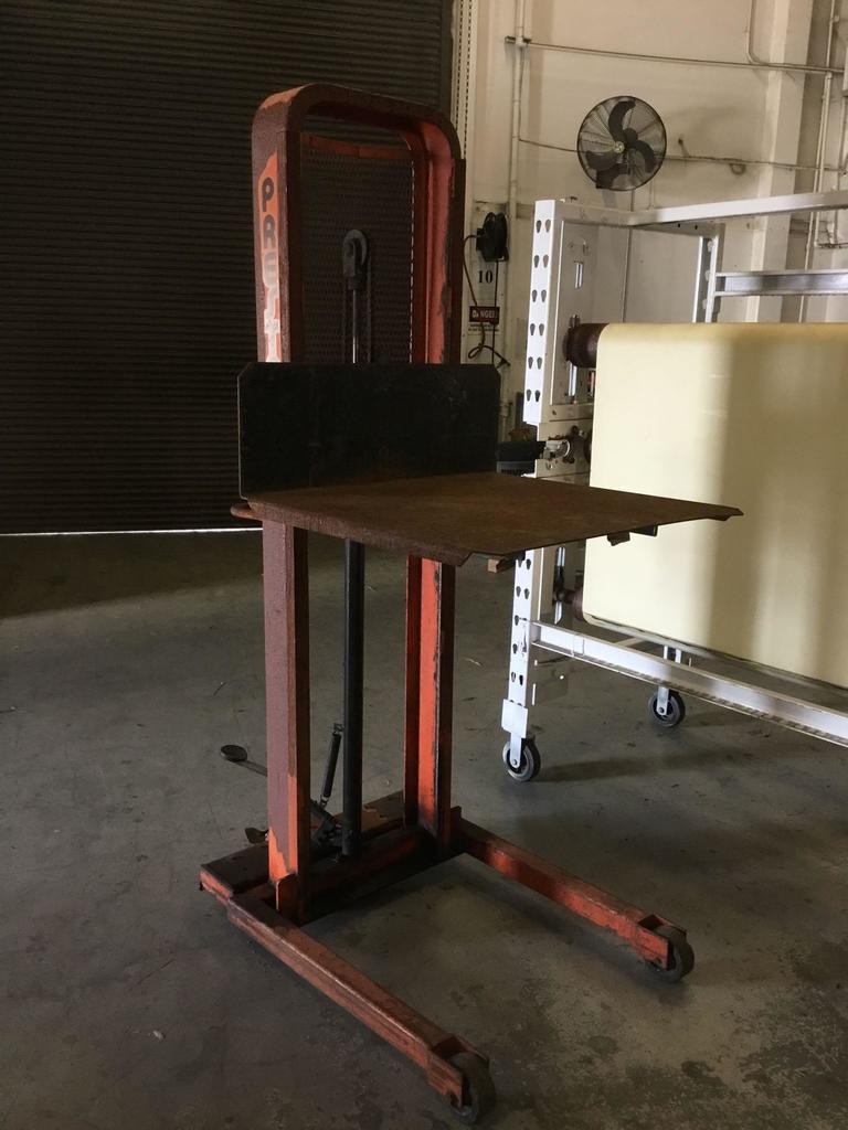 Presto Hydraulic Steel Frame Material Lift