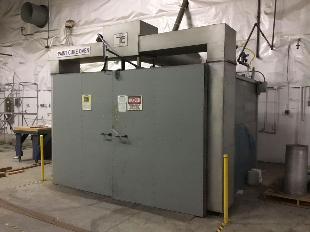 Taricco Paint Composite Cure Oven