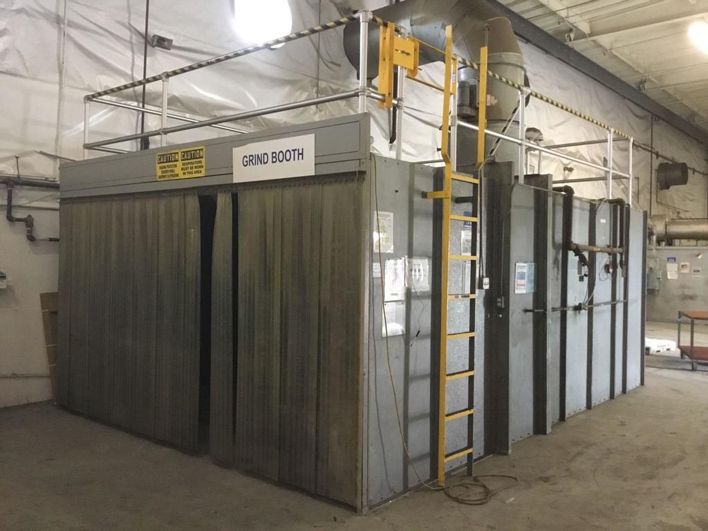 Large Grind/Blasting Booth