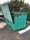 Large Metal Dumpster Bin