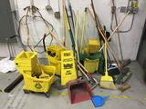 Lot of Assorted Janitorial Equipment