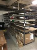 (2) Six Shelf Rivet Racking