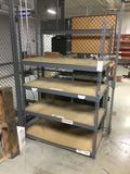 (1) 11-Shelf Rivet Rack and (2) 4-Shelf Rivet Racks
