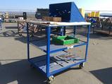 Heavy Duty Metal Rolung Cart w/Top