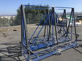 (2) Creform Pipe And Joint Rolling Utility Racks
