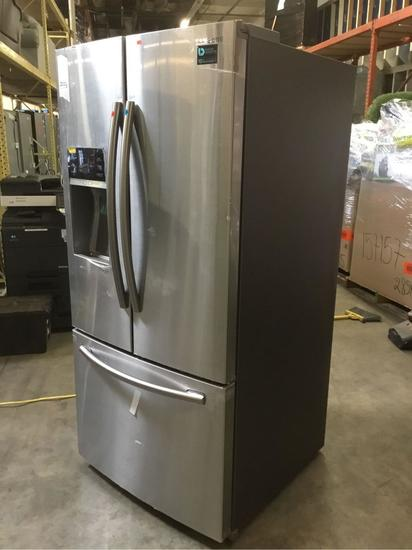 Samsung French Door Refrigerator with Twin Cooling Plus**GETS COLD**