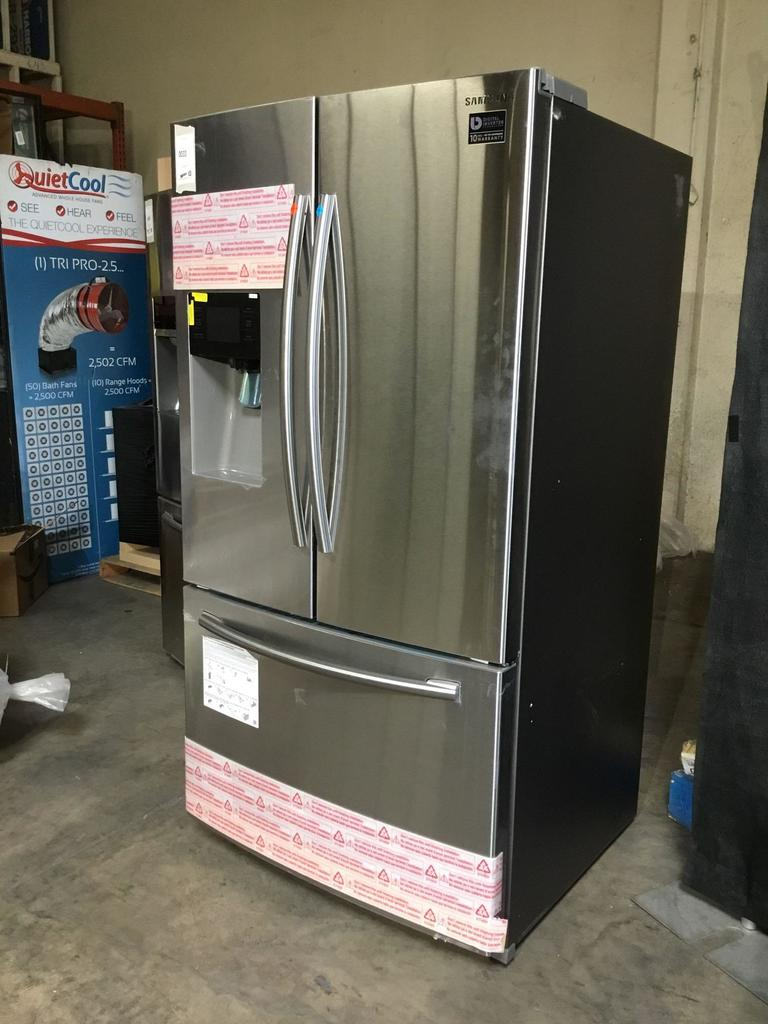 Samsung 25 cu. ft. French Door Refrigerator with External Water & Ice Dispenser