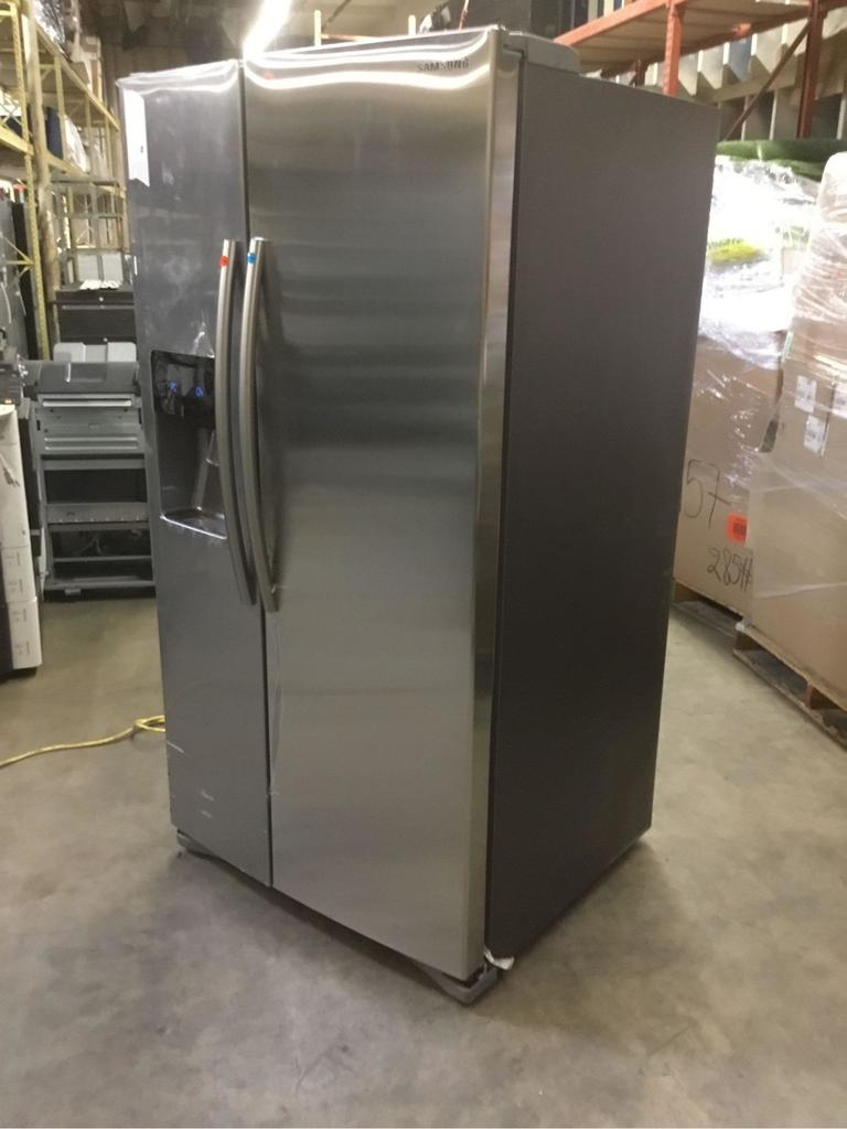 Samsung 24.5 cu. ft. Side-By-Side Refrigerator with In-Door Ice Maker