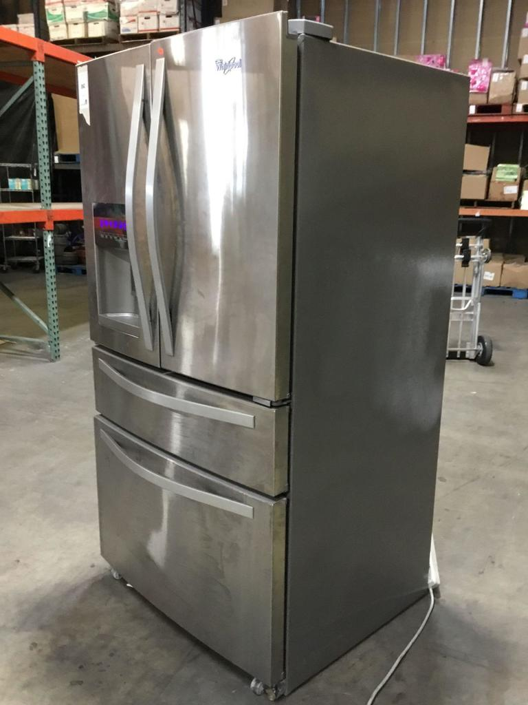 Whirlpool 36 in. Wide French Door Refrigerator with External Refrigerated Drawer