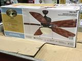 Hampton Bay Rocio 60 in. Natural Iron Indoor/Outdoor Ceiling Fan