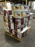 Pallet Lot of Assorted Hampton Bay and Home Decorators Ceiling Fans