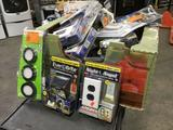 Lot of Assorted Indoor/Outdoor Lighting and Electrical Utilities