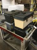 (4) Plastic Toolboxes
