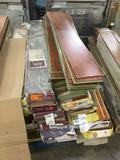 Lot of Assorted Laminate Flooring