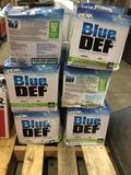 (6) Peak Blue Def Diesel Exhaust Fluid Boxes