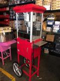 Pop Corn Machine with Cart  NEW