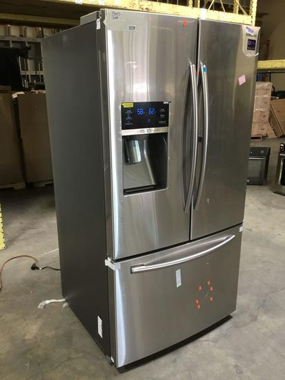 Samsung 28 cu. ft. French Door Food Showcase Refrigerator Stainless Steel