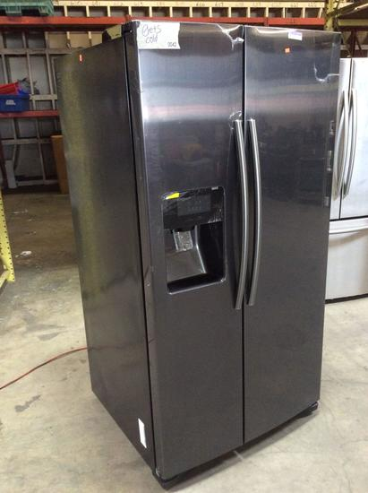 Samsung 25 cu. ft. Side By Side Refrigerator with LED Lighting