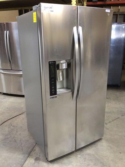 LG Stainless Steel 26 cu. ft. Side-By-Side Refrigerator