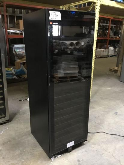 142-Bottle Dual Zone Built in Touch Screen Wine Cooler