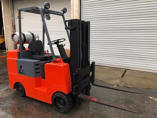 AC 5000lbs Capacity LPG Sit Down Counter Balanced Forklift
