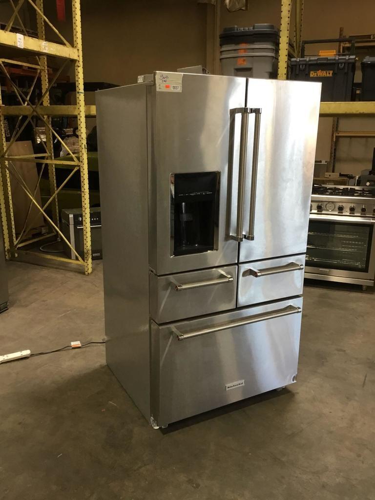 """Kitchen Aid 25.8 Cu. Ft. 36"""" Multi-Door Freestanding Refrigerator"""